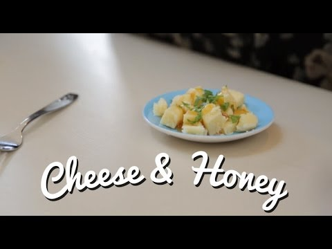 VLOG: Cheese with Honey and Parsley - Crumbs
