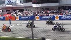 Starting Sound of MotoGP 2013 Sepang (HD Sound)