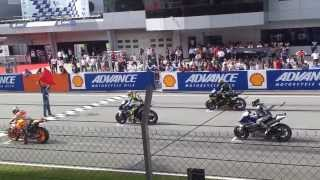 Starting Sound of MotoGP 2013 Sepang (HD Video)