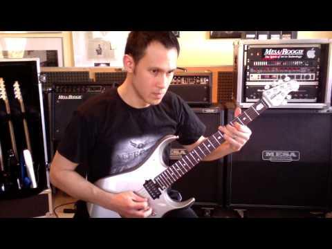 Ernie Ball MusicMan JP 13 Test von Daniel Fries (Affector) (German video)