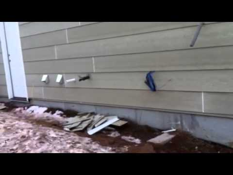 How To Use V Line Clamp To Install Hardie Board Siding Youtube