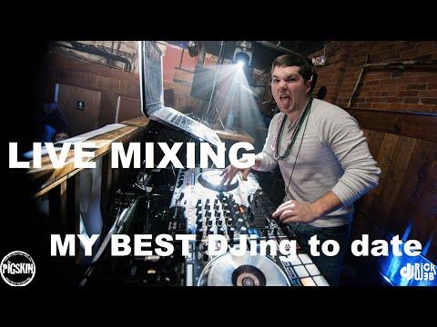 DJ GIG LOG 064 | Mardi Gras Night | My best mixing yet | College Club