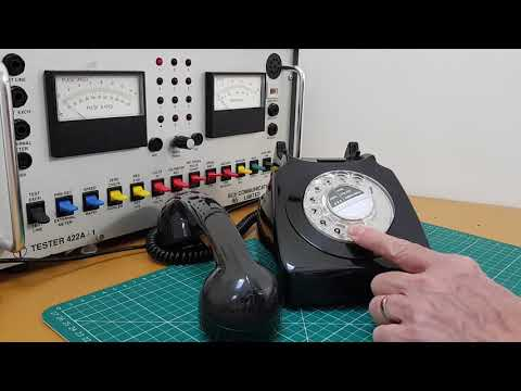 Old Pulse Dialling Telephones vs Push Button Tone dialling phones