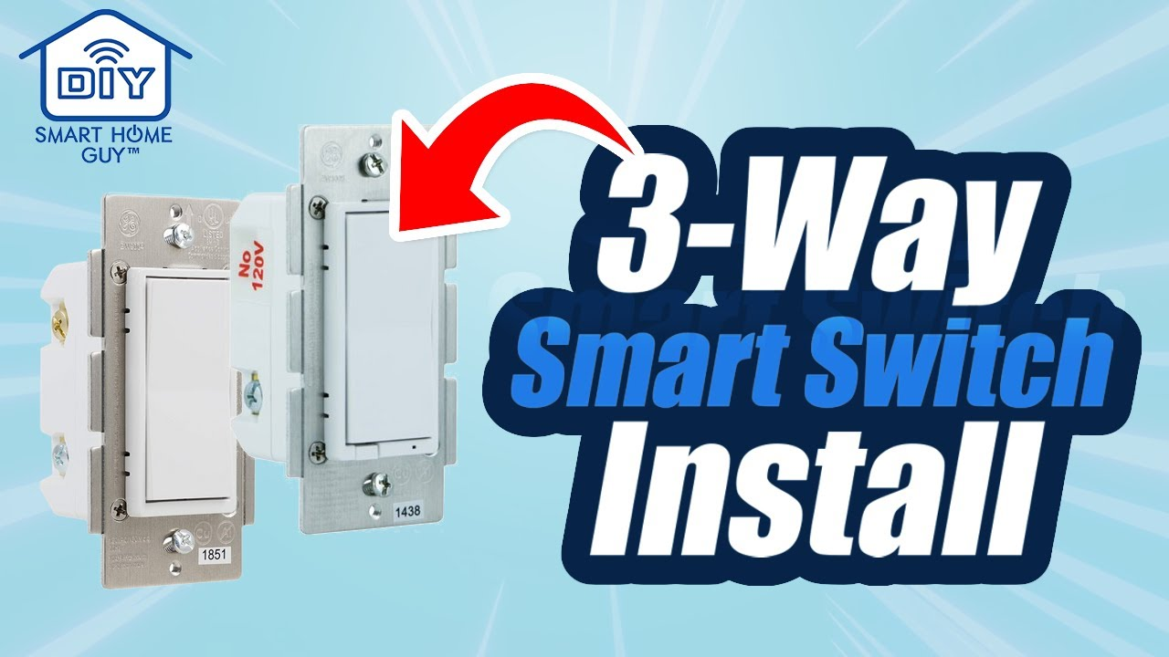 DIY 3 Way Switch GE Leviton Zwave Smart Switch Installation for your Wink Smart Home Automation