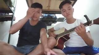 ĐỂ CHO ANH KHÓC | guitar cover |♡ BỘ ĐỘI HQ
