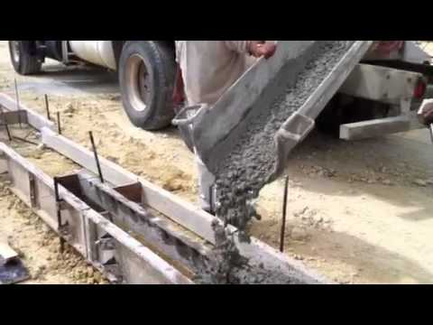 Concrete Curbs Youtube