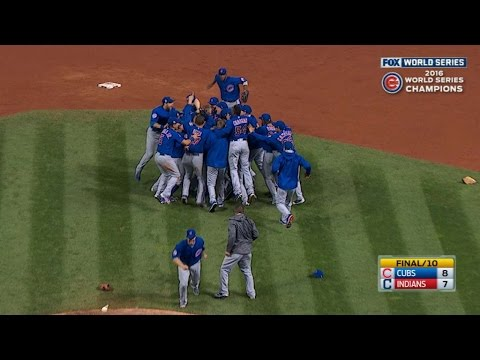 Cubs win World Series with Game 7 win