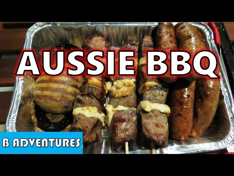 Australian BBQ Cooking, Brisbane Australia