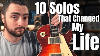 Top 10 Guitar Solos That Changed My Life