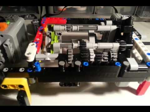 Lego Technic 5+R orbital gearbox - YouTube