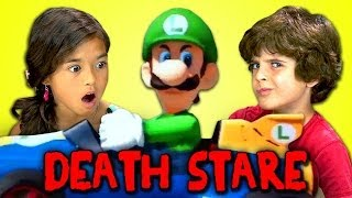Kids React to Luigi Death Stare