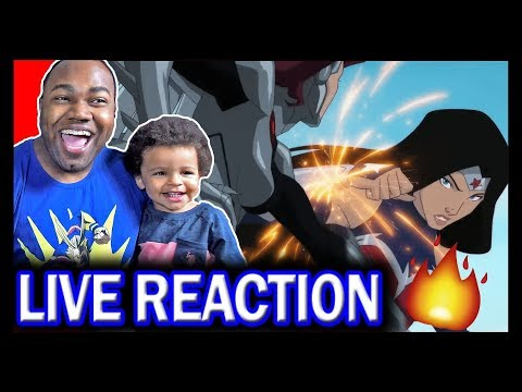 wonder-woman:-bloodlines-official-exclusive-trailer-reaction