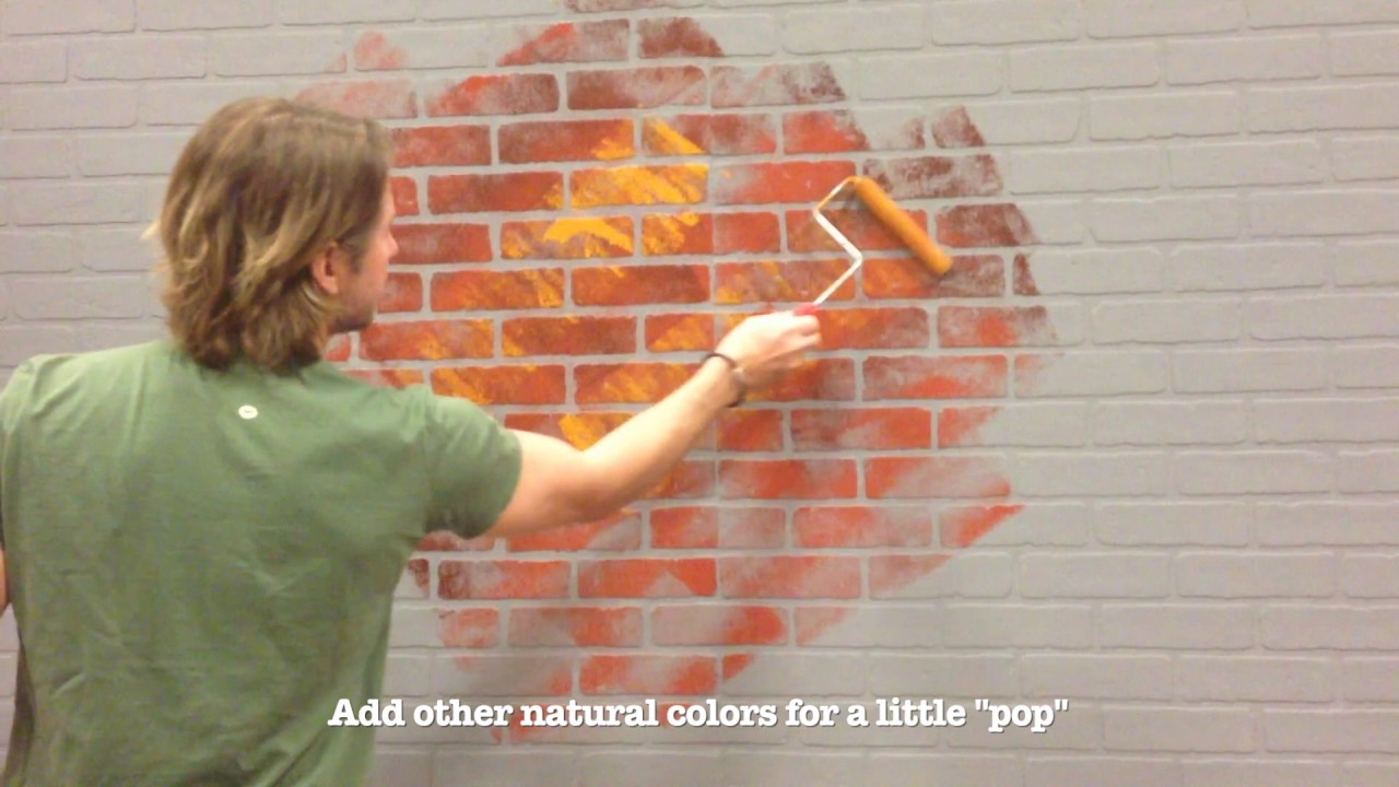 How To Repaint Brick Paneling For A Realistic Effect You
