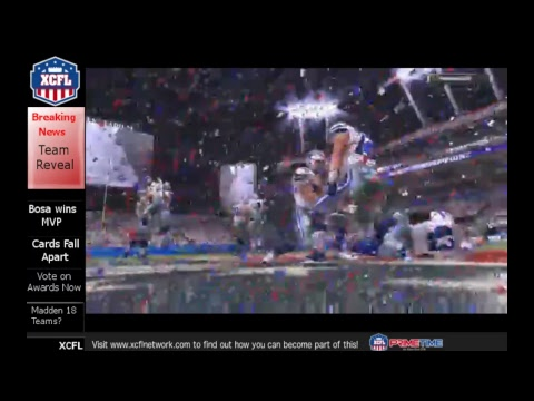 XCFL Gameday Superbowl VIII