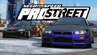 NEED FOR SPEED PROSTREET Part 46 - R34 Battle! | Lets Play