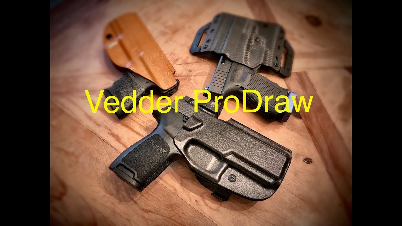 Vedder ProDraw Paddle Holster - A Quality Convenient OWB Holster!