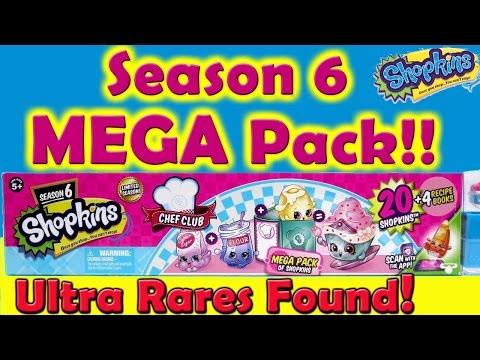 Shopkins Season 6 Chef Club Mega Pack...