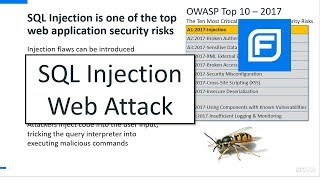 sQL Injection Web Attack (Live Demo for AppSec)
