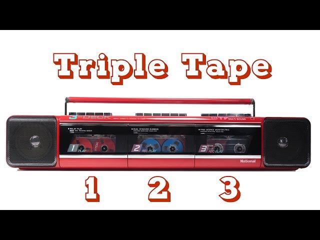 The Three Cassette 'Boombox'