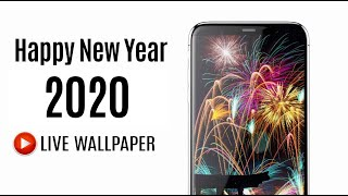 Happy New Year 2020 Live Wallpaper for Android