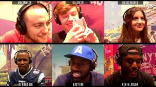 Grand Theft Auto V Online Sessions : Mac Miller, DJ Whoo Kid & Faze Blaziken (Funny Moments)