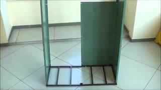 Ящик шкаф для хранения двух газовых баллонов