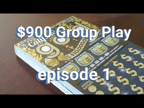 $30 California Gold Group Play - Full $900 Book - Episode 1