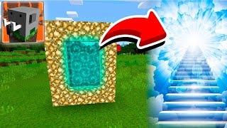 How To Make a Portal To The HEAVEN Dimension in Craftsman Building Craft