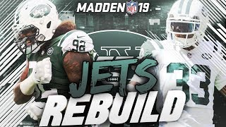 Rebuilding the New York Jets | Madden 19 Franchise | Sam Darnold Named the Starter