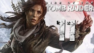 Прохождение Rise of the Tomb Raider Часть 11 Обвал в Шахтах