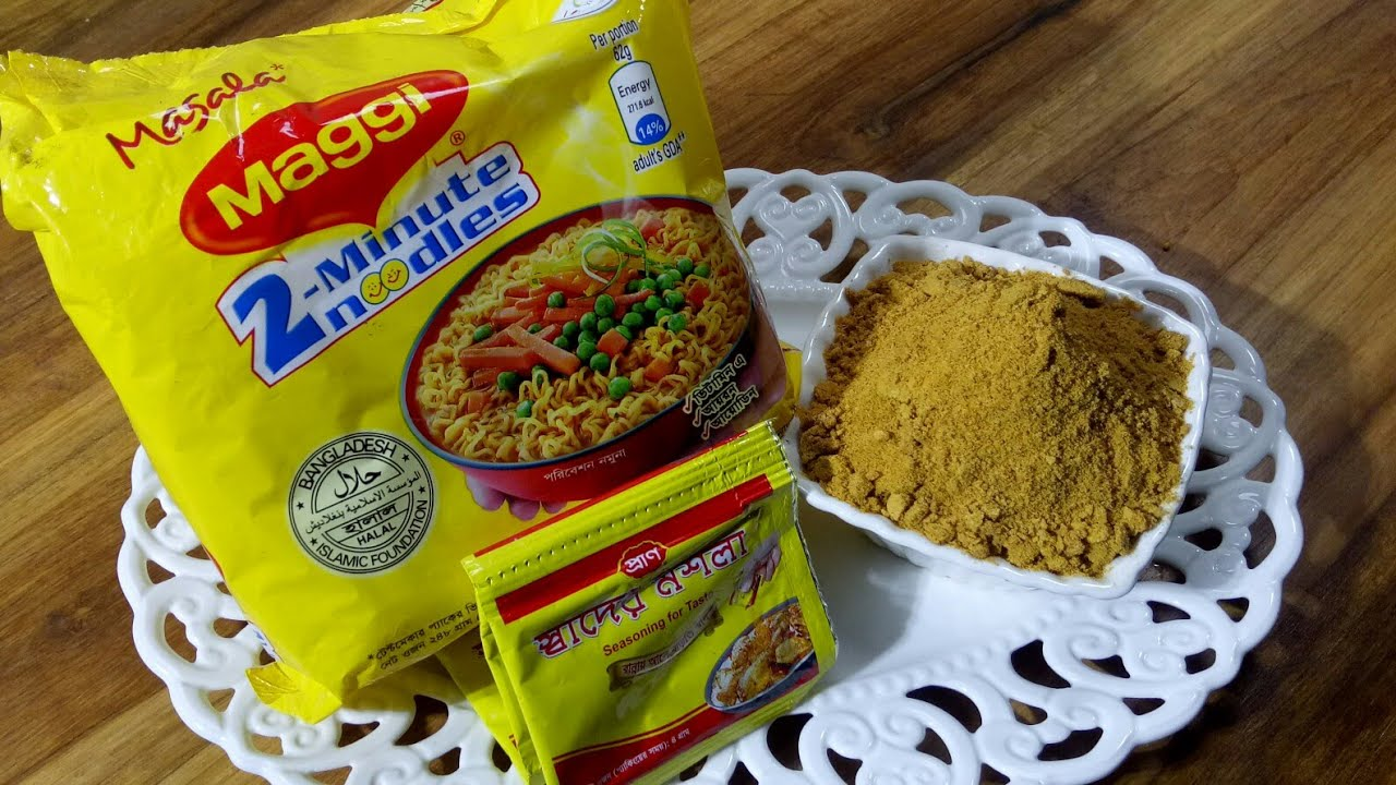 how to make maggi masala powder at home
