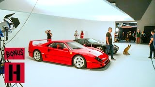 Hoonigan Cars and Ron's Favorites from Cars and Cameras at Kirby Studios!
