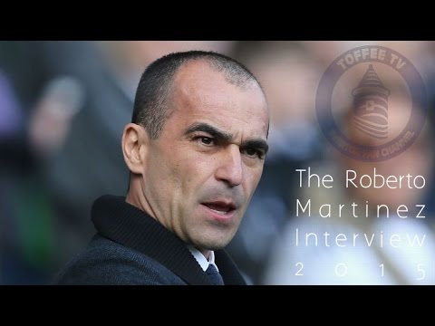 The Roberto Martinez Interview 2015