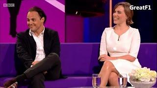 Claire Williams and Felipe Massa on the Clare Balding Show. 28.01.2016