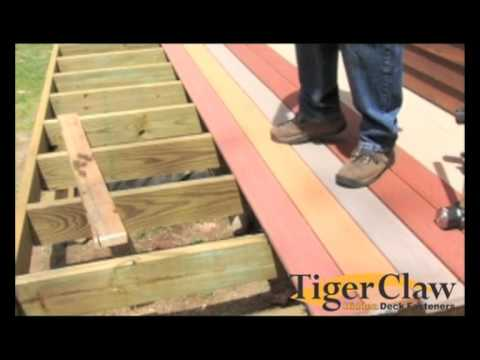 installation instructions for veranda decking youtube. Black Bedroom Furniture Sets. Home Design Ideas