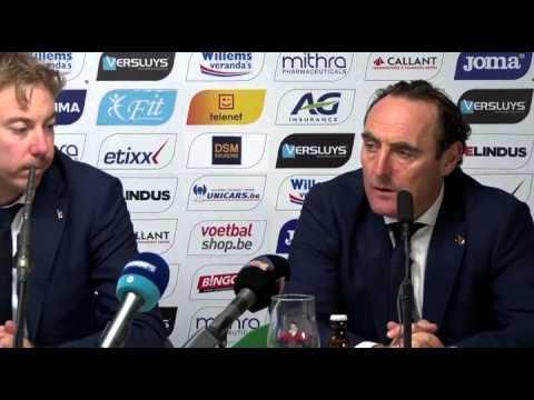 Persconferentie KVO - Club Brugge