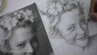 Drew Barrymore Drawing by Miguel Mirasol