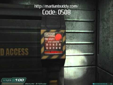 DOOM 3: Martian Buddy Locker Location (HD)
