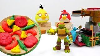 Nicoles Partyorganisation - Play-Doh Knetspaß - Wir machen Pizza für die Ninja Turtles