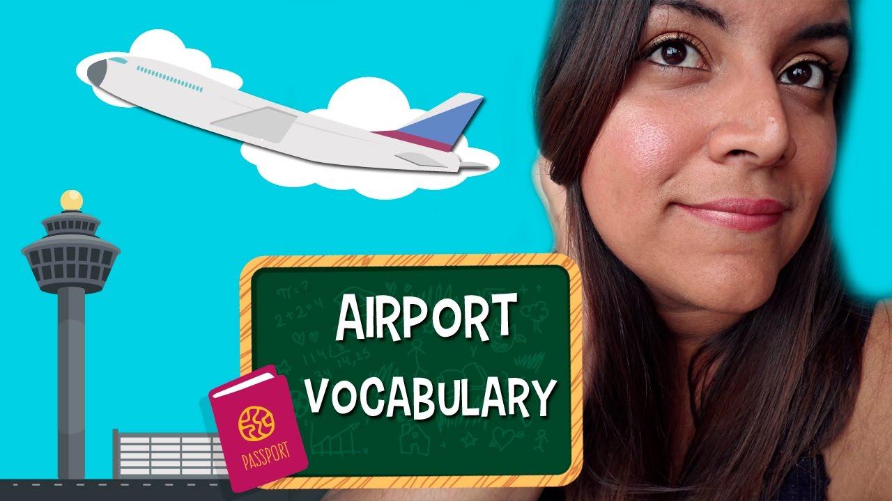 Aprende En Inglés El Vocabulario Del Aeropuerto Y Del Avión