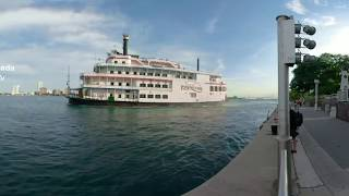 Detroit Riverfront 360 Video - Visit Detroit