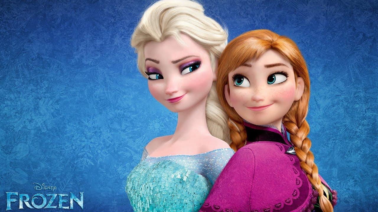 Frozen Elsa Ve Anna Eğlenceli Boyama Youtube