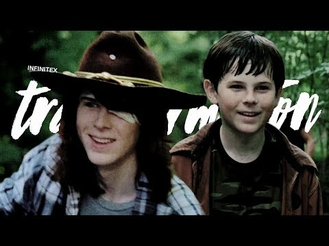 The Transformation of Carl Grimes