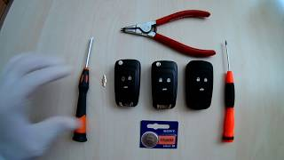 Chevrolet Cruze Anahtar Kabı Değiştirme