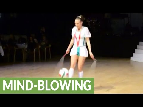 Cirque du Soleil jump rope artist will blow your mind