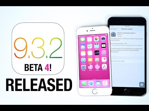 iOS 9.3.2 Beta 4 Released! What
