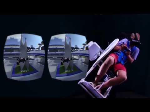 MMOne  + TrackMania 2 Stadium Virtual Reality eSport