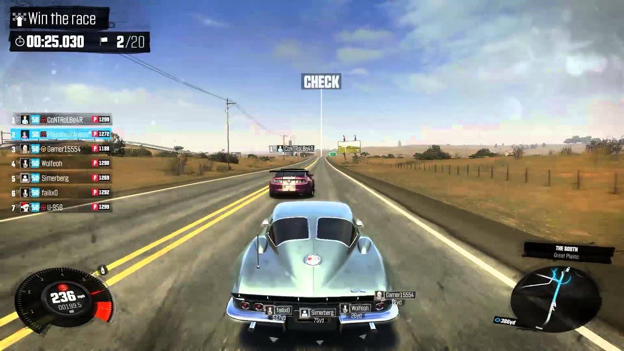 Coutning Cars Wallpaper The Crew Online Pvp Race Chevrolet Corvette C2 Stingray