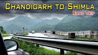 Chandigarh to Shimla Road Trip Vlog - Rainy Season