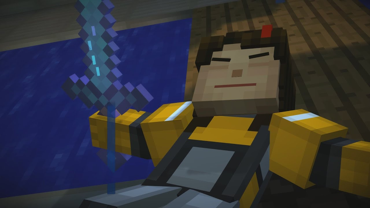 Play As Lukas Minecraft Story Mode By Blanemistid